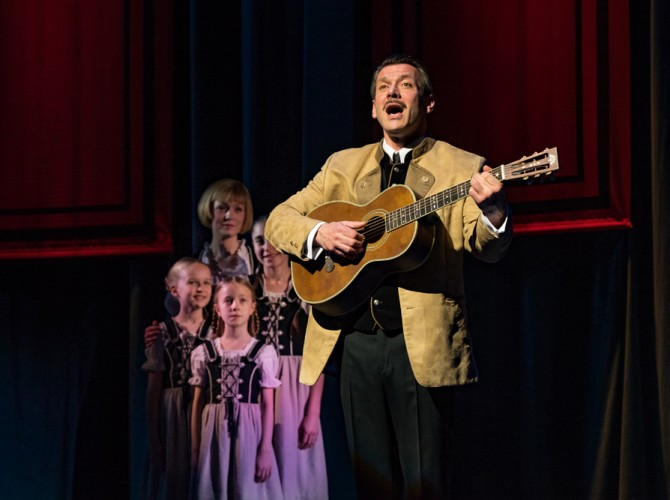 The Sound of Music UK Tour - Gray O'Brien as Captain Von Trapp - credit Mark Yeoman