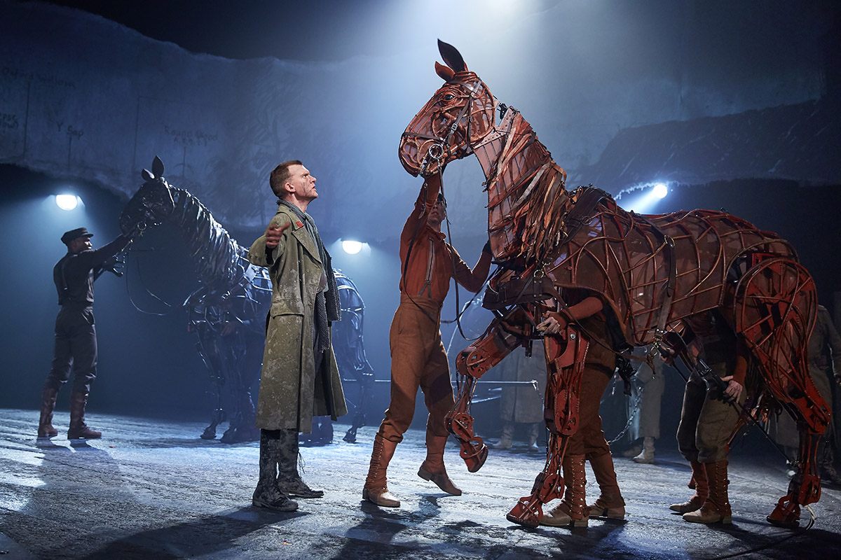 war horse stage evaluation Saw war horse in festival theatre in edinburgh, fantastic production with  amazing work by  drury lane | new london theatre, london wc2b 5pw,  england.