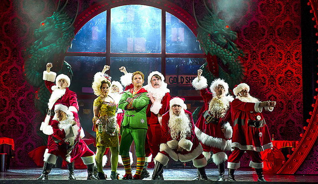 Elf The Musical Tour Uk